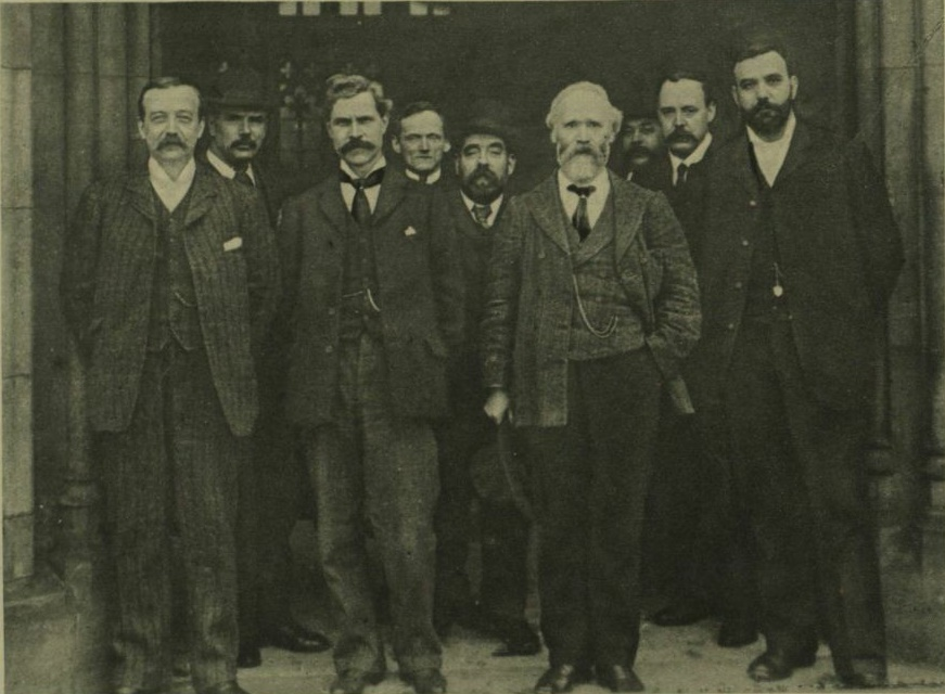Labour was founded as a party when its first MPs were elected in 1906.